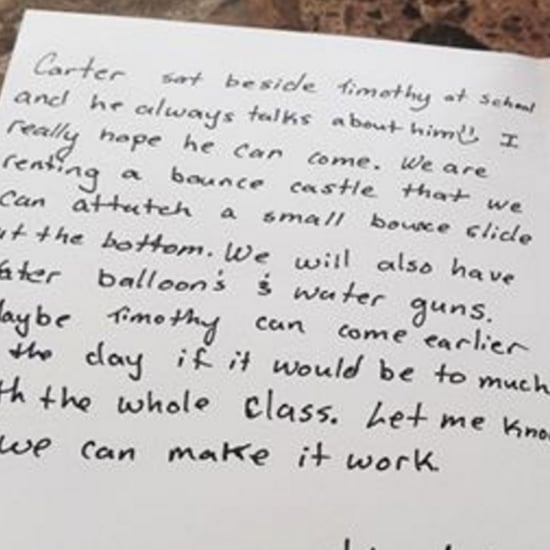 Birthday Invitation For Kid With Autism Brings Mom to Tears