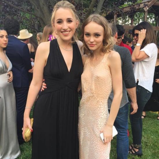 Lily-Rose Depp Prom Dress