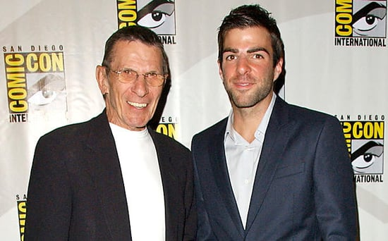 FROM EW: Zachary Quinto Says His Connection to Leonard Nimoy Has Become 'More Spiritual' Since His Death