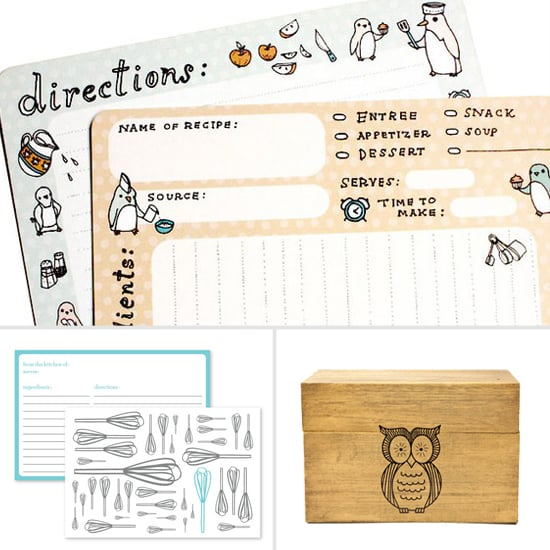 Recipe Cards and Boxes to Log Your Best Dishes