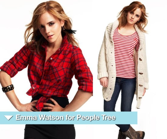 Emma Watson for People Tree Autumn 2010