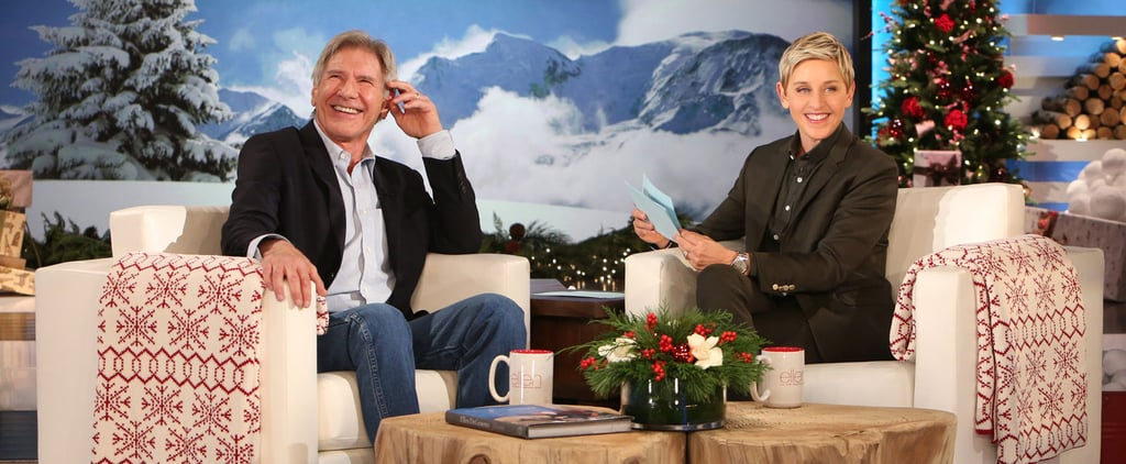 Harrison Ford Answering Juicy Questions For Charity Will Make You LOL