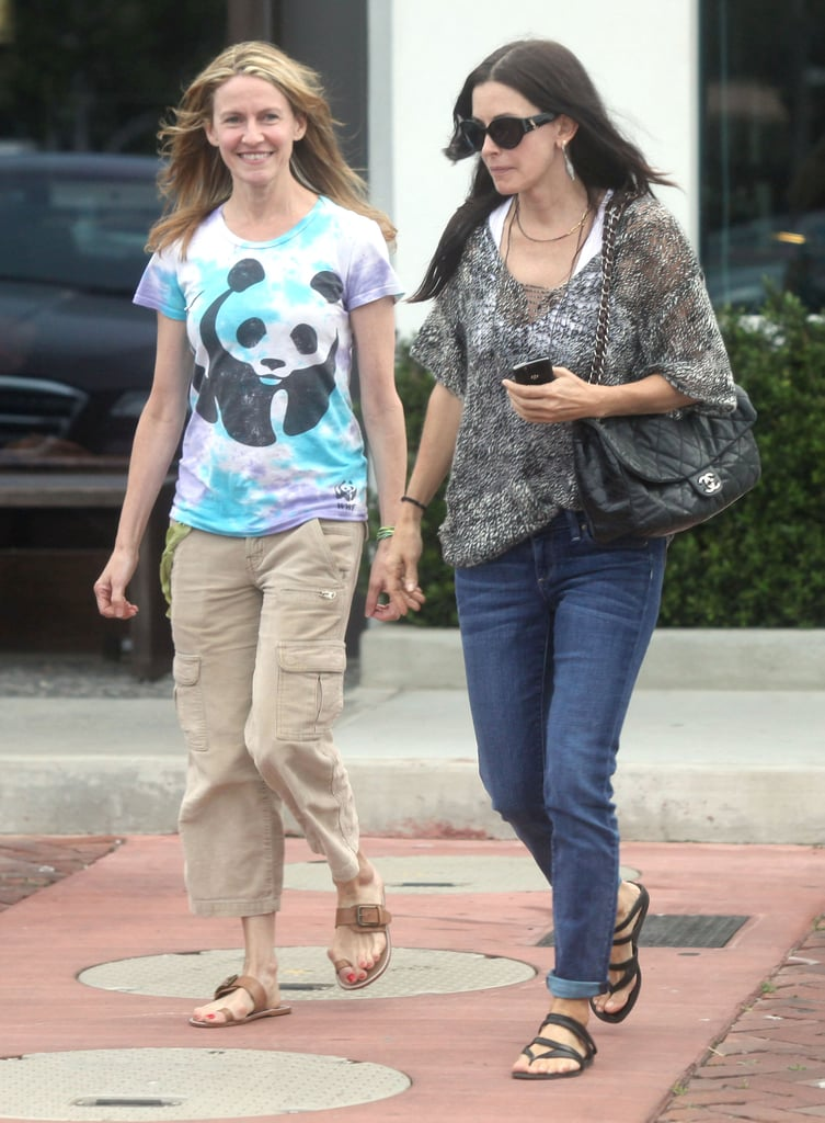 Courteney Cox and David Arquette Spend Their Anniversary Weekend Shopping While Coco Gets Pampered