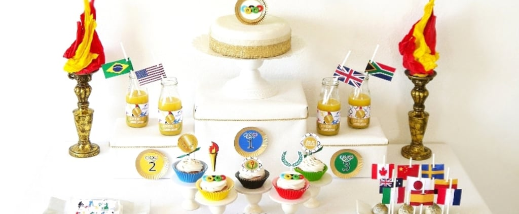 Celebrate Your All-Star's Big Day With This Olympic Birthday Party