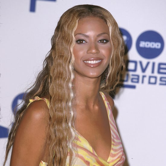 Beyoncé styled her hair in long, cascading waves during her days with Destiny's Child.