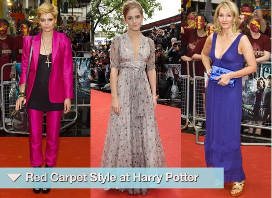 Photos from Harry Potter Premiere Red Carpet Fashion Emma Watson