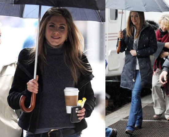 Could Jennifer Aniston Be Having a Gerard Spring Fling?