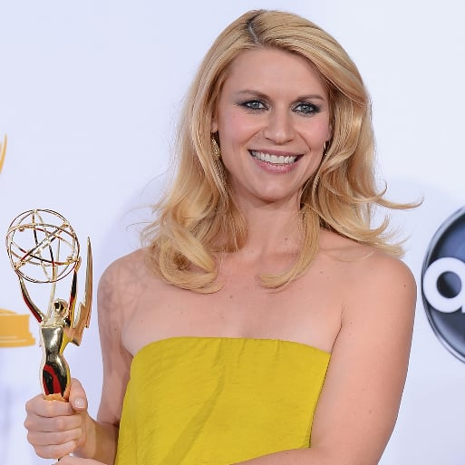 Claire Danes Emmy Interview in Press Room 2012