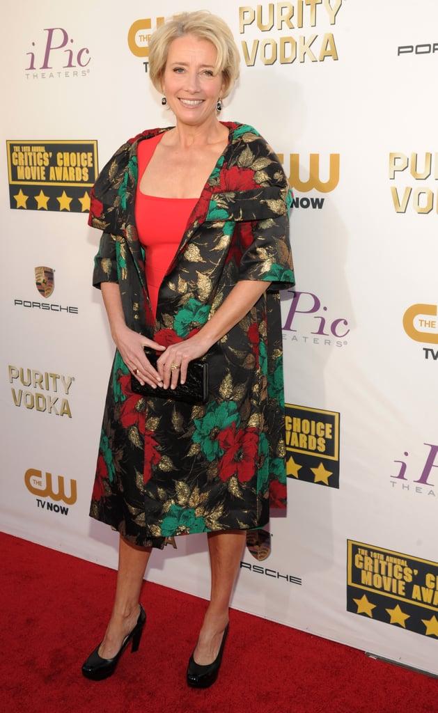 Emma Thompson at the Critics' Choice Awards 2014