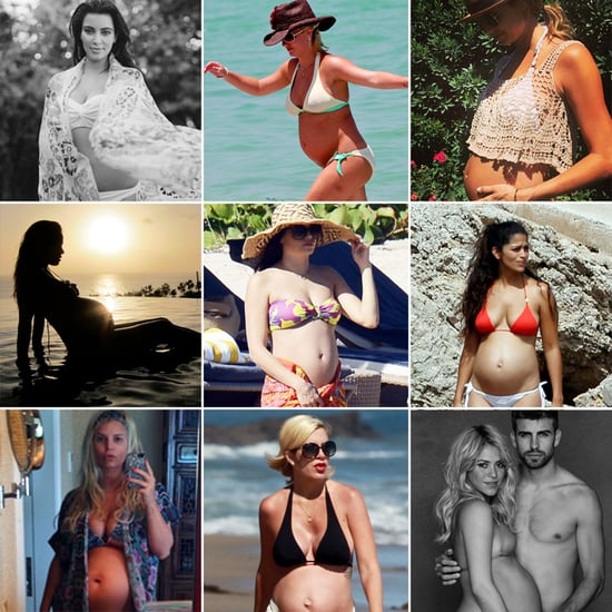 41 Celebrities Who Rocked the Bikini While Pregnant