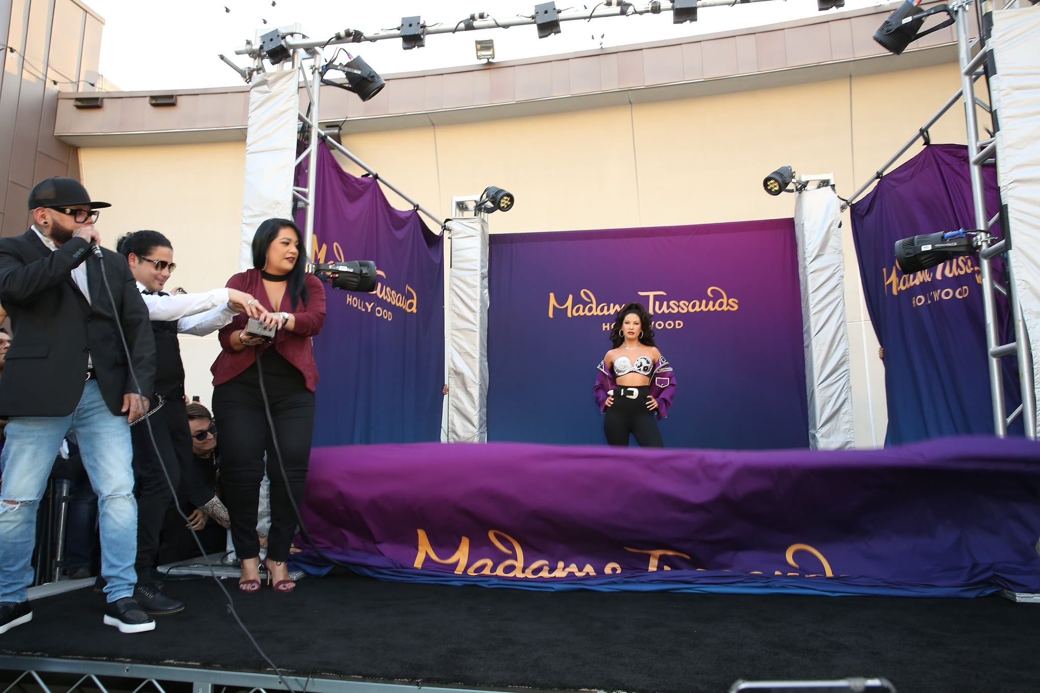 She's Here! Get Your First Look at Selena's Madame Tussauds Wax Figure