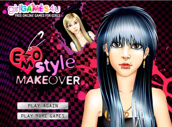Emo Style Makeover Is a Hot Topic