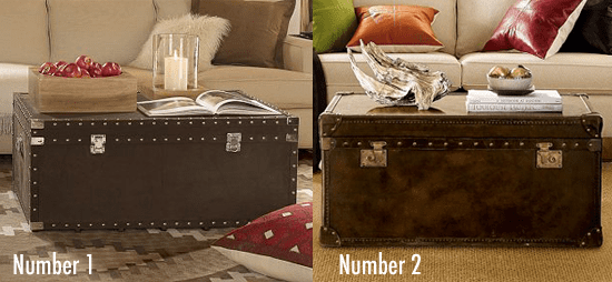 Less or More: Trunk Coffee Tables