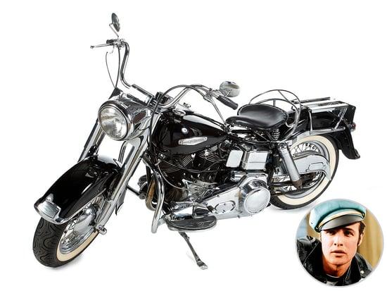 Marlon Brando's Harley Is for Sale