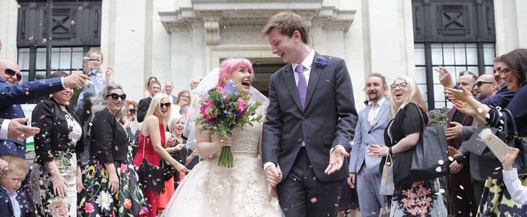 This Adorable Couple's Marriage Is Every Book-Lover's Fairy Tale