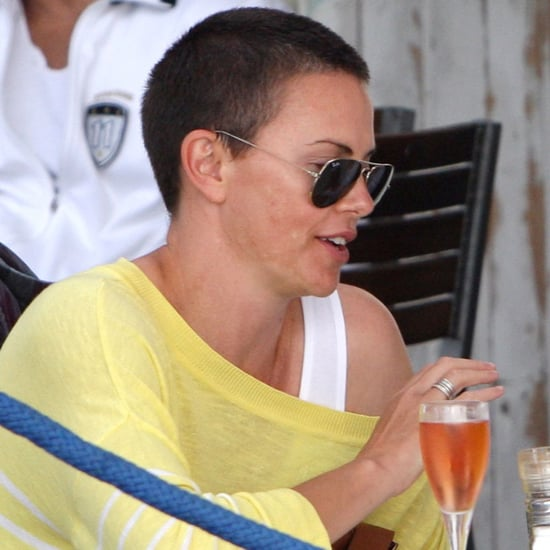 Charlize Theron With a Buzz Cut in South Africa | Pictures