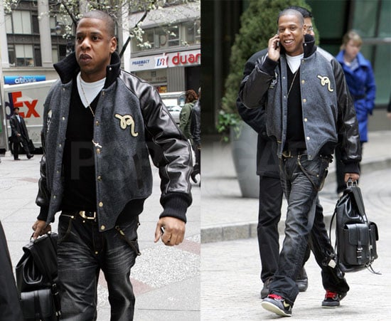 A Possibly Married Jay-Z Out in NYC