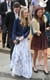 Cressida Bonas at a June 2013 Wedding