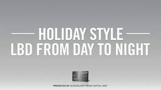 Holiday Fashion 411: How to Style Your LBD and Earn Cash Back, Too!