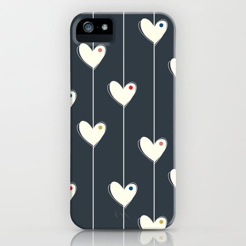 Heart garland case ($35) for iPhone models and Samsung Galaxy S
