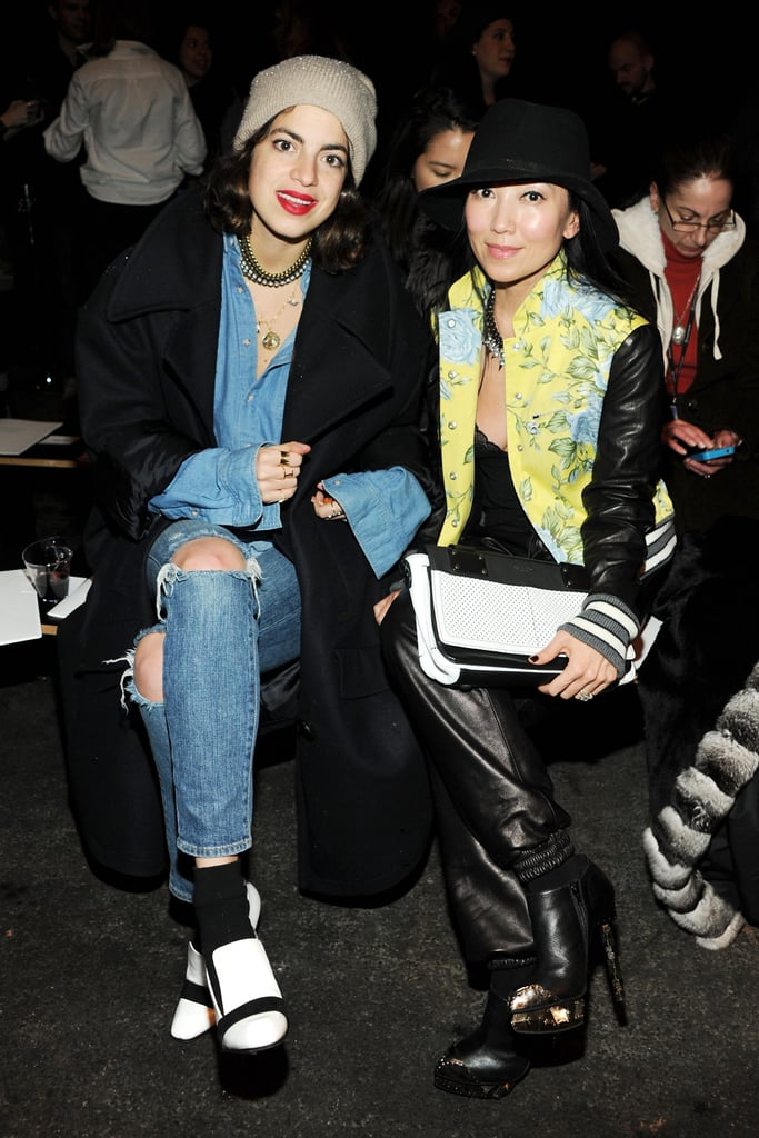 Leandra Medine of The Man Repeller and Tina Craig