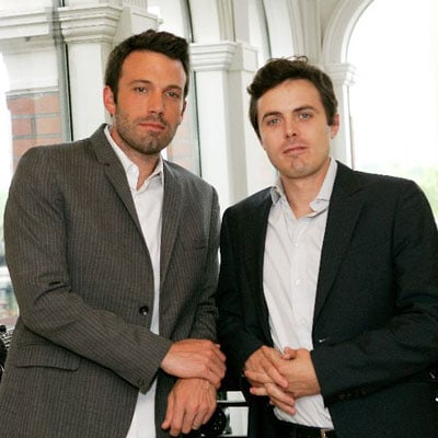 Ben Affleck and Casey Affleck Promote Gone, Baby, Gone in the UK