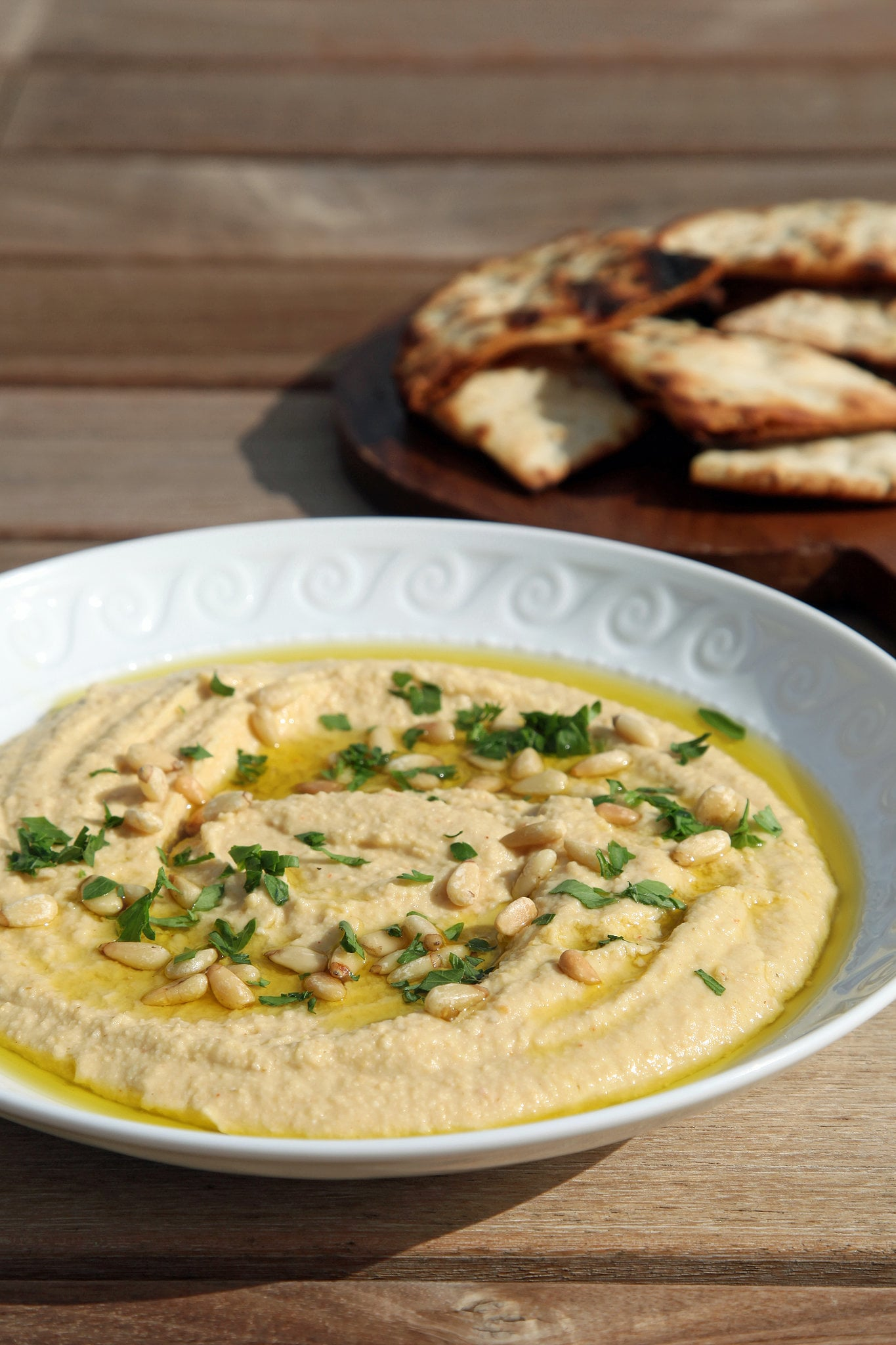 Creamy Homemade Hummus