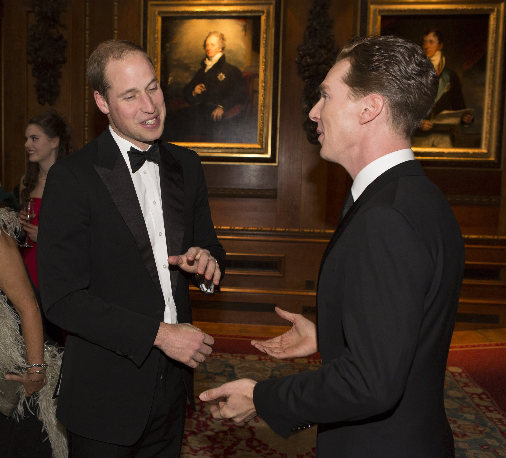Even Prince William Had to Give It Up to Benedict