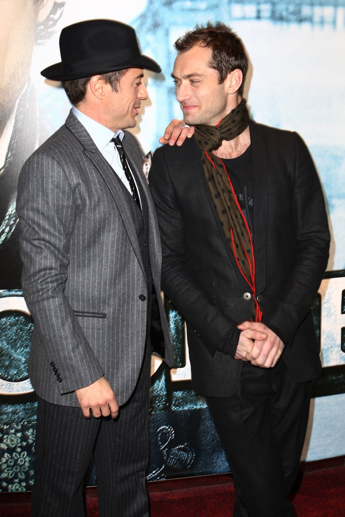 """While Robert Downey Jr. was at Comic-Con in 2009, Rachel McAdams suggested the real love story in Sherlock Holmes was between Robert and costar Jude Law. Robert retorted with a hilarious response:  """"It's called circumstantial homosexuality."""""""