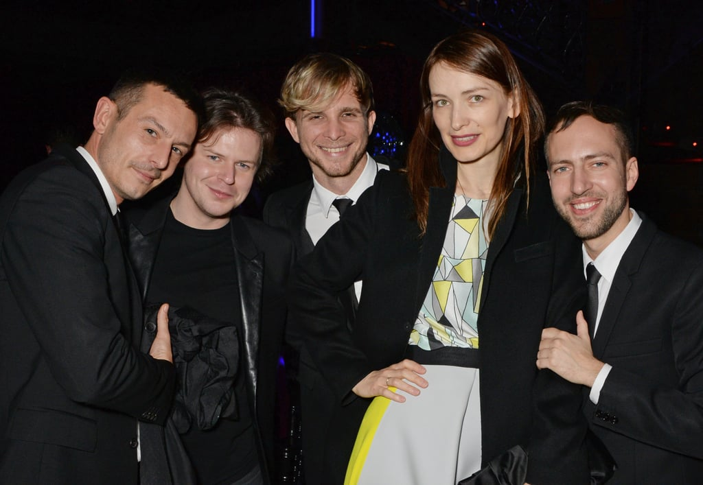 Jonathan Saunders, Christopher Kane, Christopher de Vos, Roksanda Illincic, and Peter Pilotto