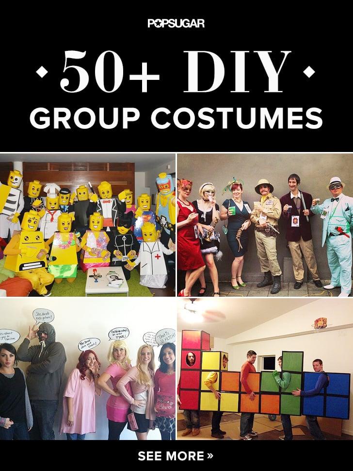 59 Creative Homemade Group Costume Ideas