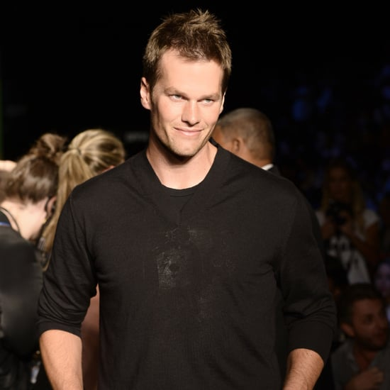 Tom Brady Cheering For Gisele Bundchen on the Runway