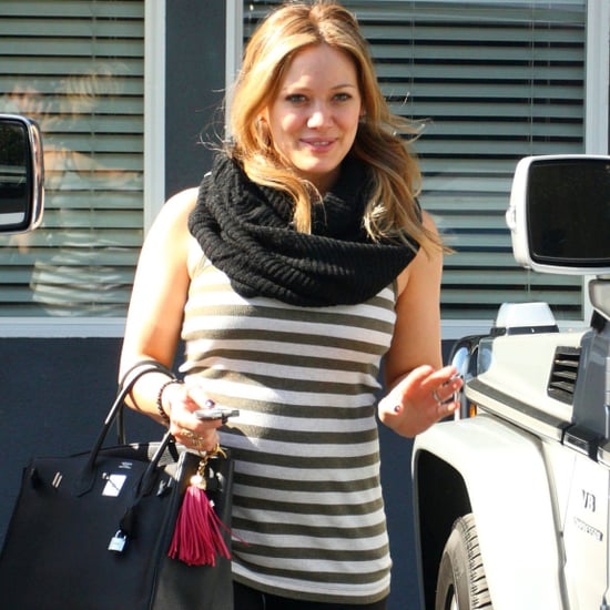 Pictures of Hilary Duff's Pregnancy Style