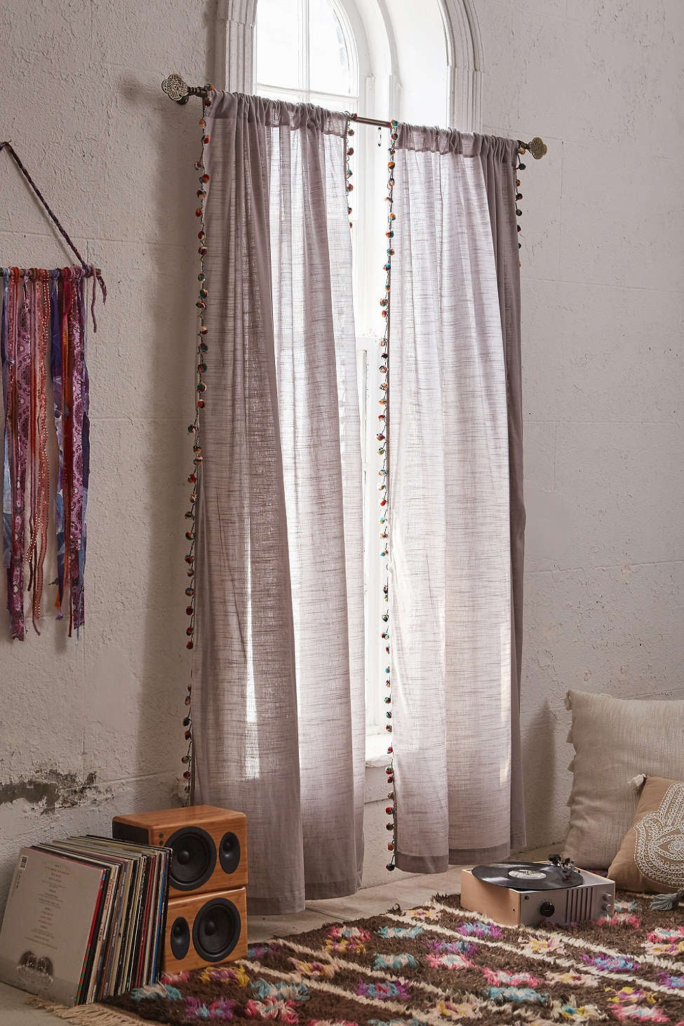 NA Bedroom: Hang Curtains