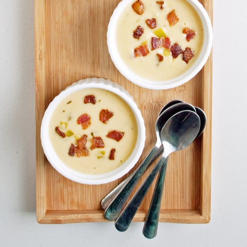 Spicy Cheddar Beer Soup