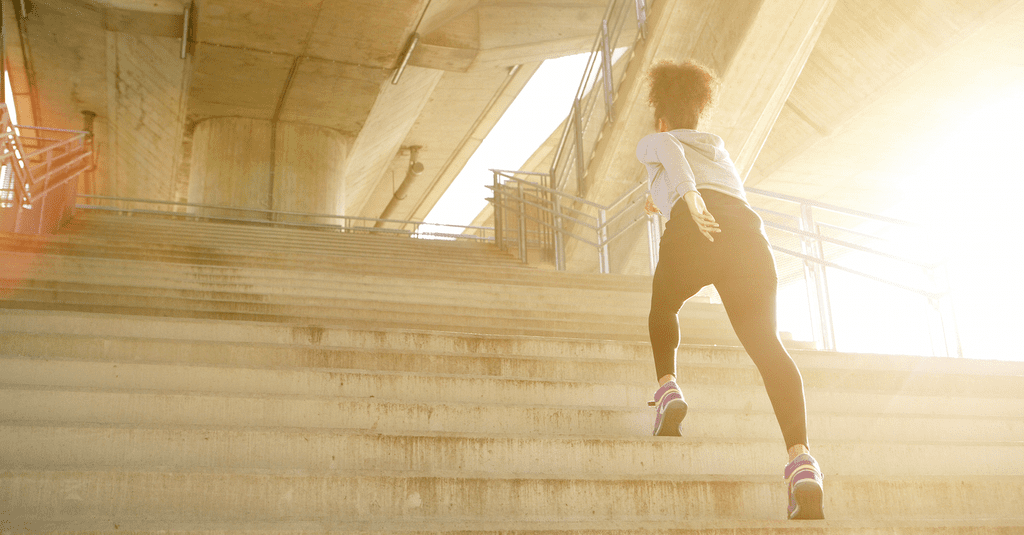 5 Ways a Flight of Stairs Can Heat Up Your Winter Workouts