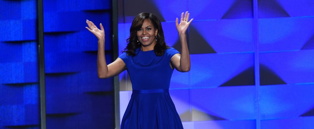 Here's Why Michelle Obama's DNC Dress Choice Was an Extremely Smart One