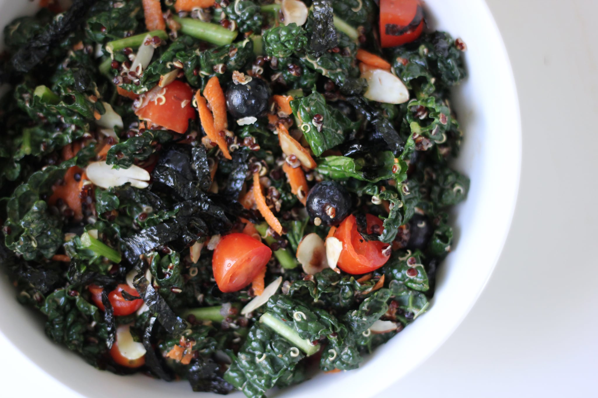 Blueberry, Quinoa, and Kale Salad