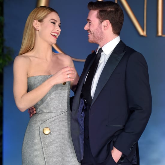 Cinderella's Richard Madden and Lily James Together