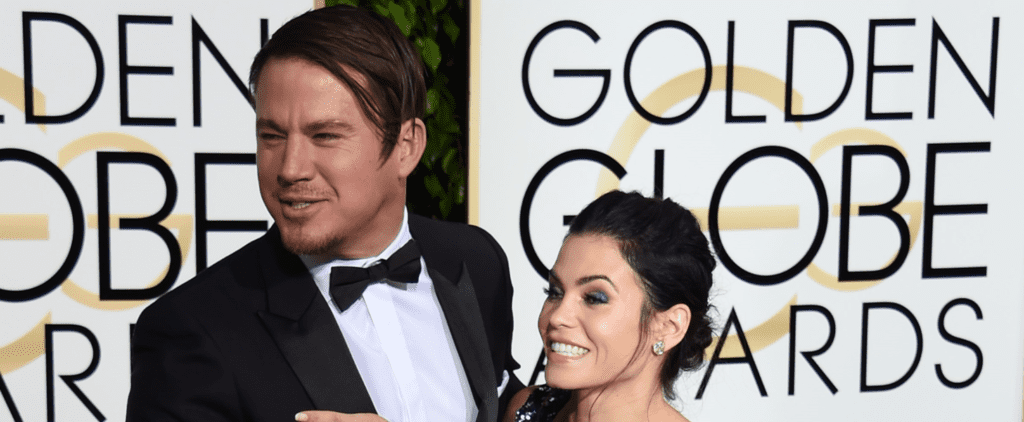 Let's Talk About Channing Tatum's Hair at the Golden Globes