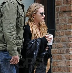 Mary-Kate Olsen Leaving Her NYC Apartment