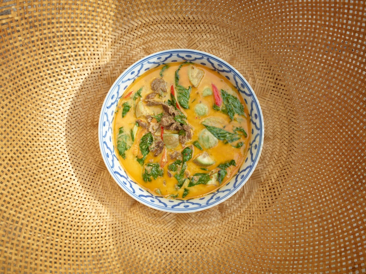 Beef and Coconut Milk Curry