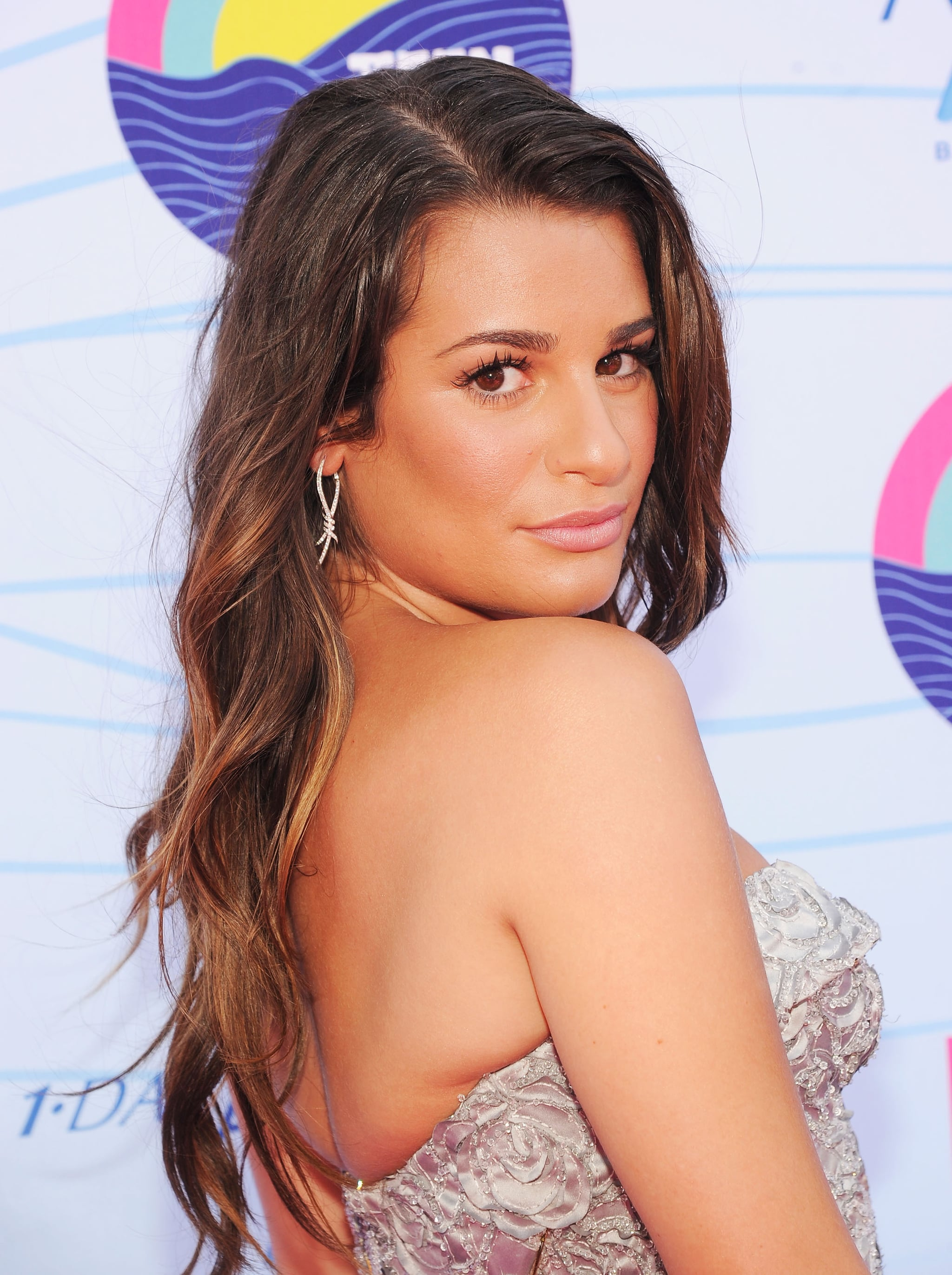 Lea Michele struck a sexy pose at the Teen Choice Awards.