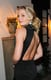 Jennifer Morrison gave a back pose at the Look Better Naked issue launch party in LA.