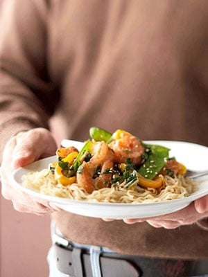 Easy Shrimp and Noodle Stir-Fry Recipe