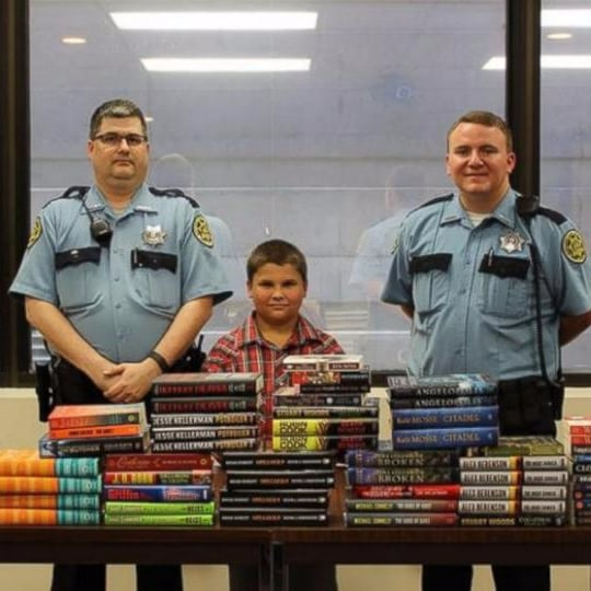 Boy Uses Allowance Money to Buy Books For Inmates in Jail