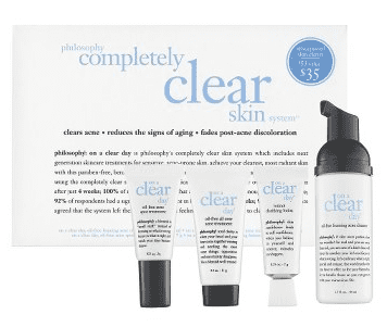 Tuesday Giveaway! Philosophy Completely Clear Skin