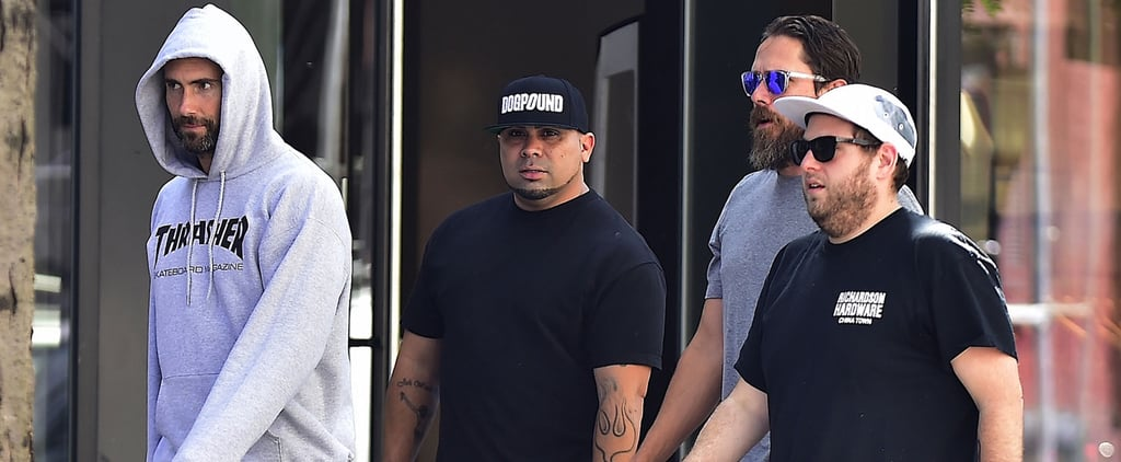 Adam Levine Has a Boys' Day Out With Pal Jonah Hill in NYC