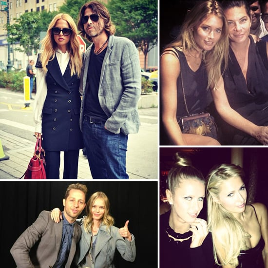 Behind-the-Scenes Celebrity Photos From NYFW