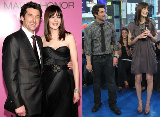 Dempsey and Michelle Witness Red Carpet Wedding